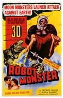 """Robot Monster - 11"""" x 17"""" - $15.49"""