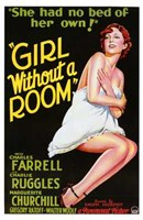 """Girl Without a Room - 11"""" x 17"""", FulcrumGallery.com brand"""