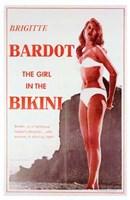 """The Girl in the Bikini - 11"""" x 17"""" - $15.49"""