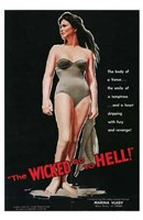 """The Wicked Go to Hell - 11"""" x 17"""", FulcrumGallery.com brand"""