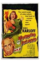 """Voodoo Island - 11"""" x 17"""" - $15.49"""