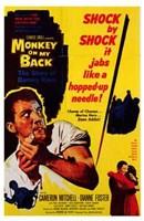 "Monkey on My Back - 11"" x 17"""