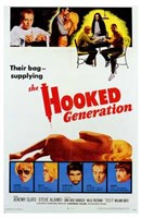 """The Hooked Generation - 11"""" x 17"""", FulcrumGallery.com brand"""