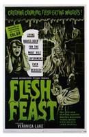"Flesh Feast - 11"" x 17"" - $15.49"