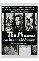 "The House of Insane Women - 11"" x 17"", FulcrumGallery.com brand"