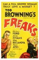 """Freaks - Yellow - 11"""" x 17"""" - $15.49"""
