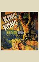 """King Kong Running People - 11"""" x 17"""""""