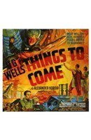 """Things to Come - square - 11"""" x 17"""" - $15.49"""