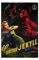 Doctor Jekyll Wall Poster