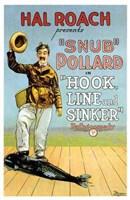 "Hook Line and Sinker - 11"" x 17"""