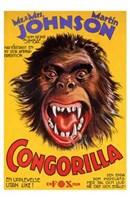 """Congorilla Big Apes and Little People - 11"""" x 17"""""""