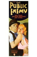 """The Public Enemy Cagney And Harlow - 11"""" x 17"""", FulcrumGallery.com brand"""