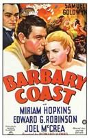 """The Barbary Coast - 11"""" x 17"""" - $15.49"""