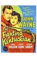 """The Fighting Kentuckian - 11"""" x 17"""""""