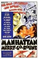 """Manhattan Merry-Go-Round - 11"""" x 17"""""""
