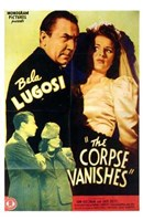"The Corpse Vanishes - 11"" x 17"" - $15.49"