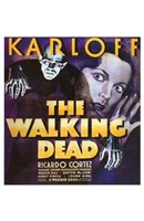 The Walking Dead With Ricardo Cortez Wall Poster