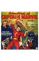 "Adventures of Captain Marvel - style C - 11"" x 17"""