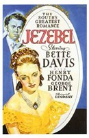 Jezebel - Bette Davis Wall Poster