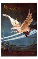 "The Thief of Bagdad Pegasus Art Deco - 11"" x 17"""
