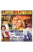 "Lloyds of London - 11"" x 17"", FulcrumGallery.com brand"