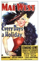 """Every Day's a Holiday - 11"""" x 17"""", FulcrumGallery.com brand"""