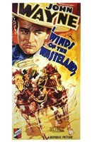 "Winds of the Wasteland John Wayne - 11"" x 17"" - $15.49"