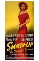"""Smash Up  the Story of a Woman - 11"""" x 17"""", FulcrumGallery.com brand"""