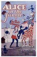 """Alice in the Jungle - 11"""" x 17"""" - $15.49"""