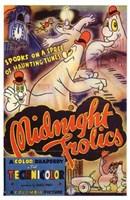"""Midnight Frolics - 11"""" x 17"""", FulcrumGallery.com brand"""