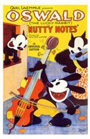 """Nutty Notes - 11"""" x 17"""""""