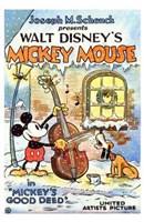 "Mickey's Good Deed - 11"" x 17"", FulcrumGallery.com brand"