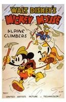 "Alpine Climbers - 11"" x 17"", FulcrumGallery.com brand"