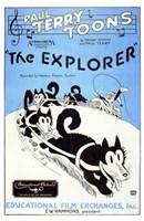 """The Explorer - 11"""" x 17"""", FulcrumGallery.com brand"""