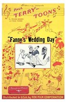 "Fanny's Wedding Day - 11"" x 17"", FulcrumGallery.com brand"