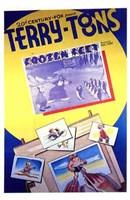 "Frozen Feet - 11"" x 17"", FulcrumGallery.com brand"