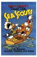 "Sea Scouts - 11"" x 17"" - $15.49"