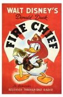 "Fire Chief - 11"" x 17"" - $15.49"