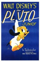 Pluto Junior Wall Poster