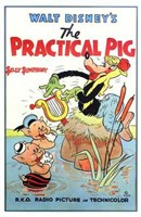 """The Practical Pig - 11"""" x 17"""""""