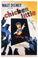 """Chicken Little - 11"""" x 17"""""""