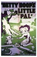 """Betty Boop's Little Pal - 11"""" x 17"""""""