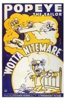 """Wotta Nitemare - 11"""" x 17"""""""