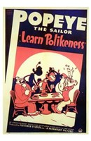 "Learn Polikeness - 11"" x 17"""