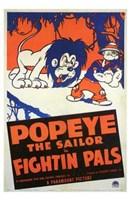 "Fightin' Pals - 11"" x 17"""