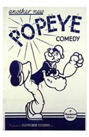 Another New Popeye Comedy Wall Poster