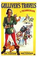 "Gulliver's Travels in technicolor - 11"" x 17"""