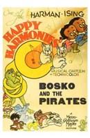 "Bosko and the Pirates - 11"" x 17"" - $15.49"