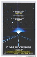 Close Encounters of the Third Kind Road Wall Poster