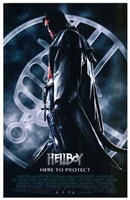 """Hellboy Hero to Protect - 11"""" x 17"""""""